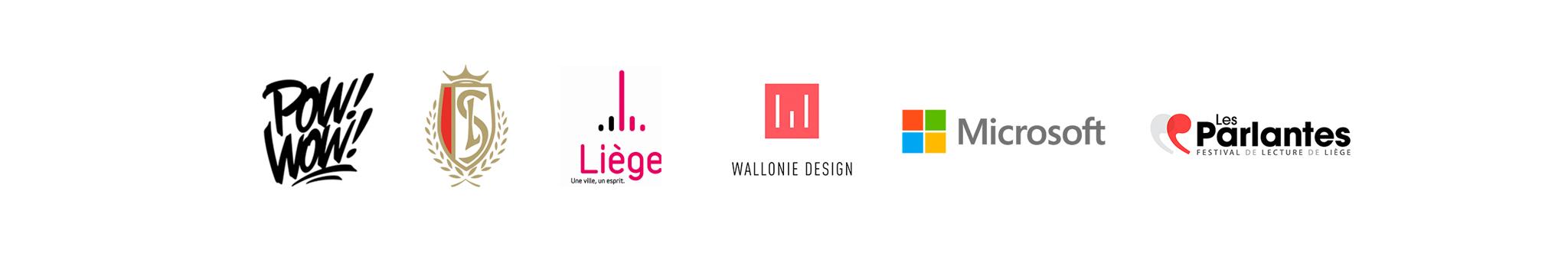 Bannière de logos des partenaires